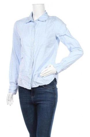 Дамска риза H&M L.O.G.G., Размер S, Цвят Син, Памук, Цена 9,56лв.