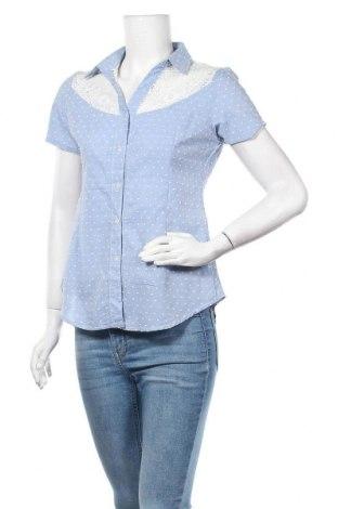 Дамска риза Halogen, Размер XS, Цвят Син, 90% полиамид, 10% еластан, Цена 6,98лв.