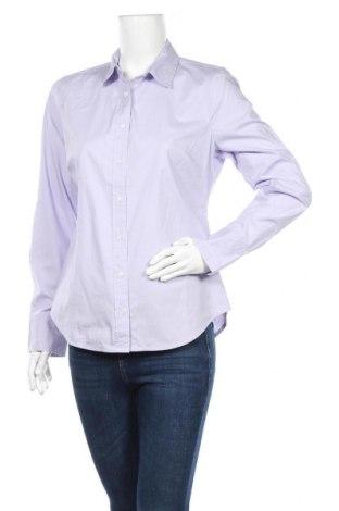 Дамска риза J.Crew, Размер M, Цвят Лилав, 98% памук, 2% еластан, Цена 50,74лв.