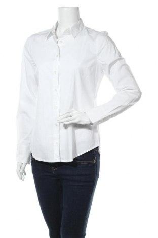 Дамска риза J.Crew, Размер S, Цвят Бял, 98% памук, 2% еластан, Цена 96,75лв.