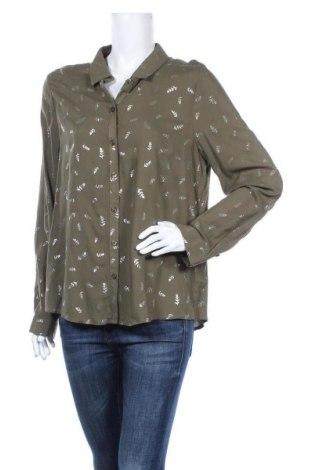 Дамска риза Jazlyn, Размер XL, Цвят Зелен, Вискоза, Цена 13,23лв.