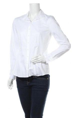 Дамска риза Marc O'Polo, Размер M, Цвят Бял, 96% памук, 4% еластан, Цена 89,25лв.