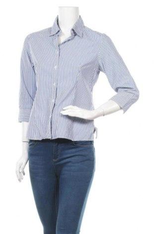 Дамска риза Marco Pecci, Размер M, Цвят Син, Памук, Цена 15,02лв.