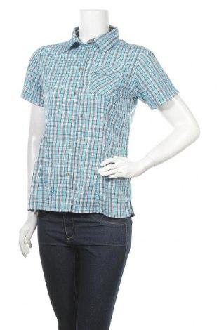 Γυναικείο πουκάμισο McKinley, Μέγεθος S, Χρώμα Μπλέ, 65% πολυεστέρας, 35% βαμβάκι, Τιμή 3,86€