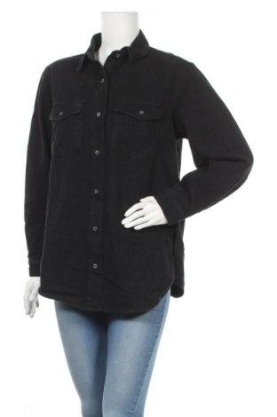 Дамска риза Missguided, Размер XS, Цвят Черен, Памук, Цена 19,78лв.