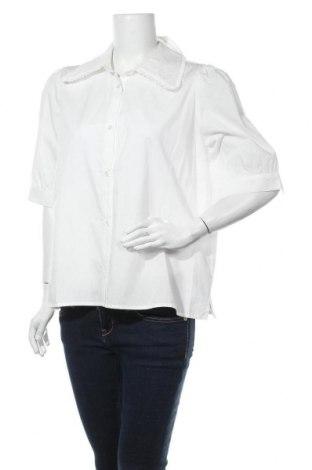 Cămașă de femei Modstrom, Mărime XL, Culoare Alb, Bumbac, Preț 25,14 Lei
