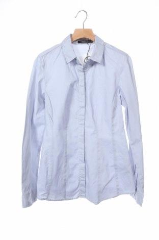 Дамска риза Mohito, Размер XS, Цвят Син, 97% памук, 3% еластан, Цена 18,20лв.