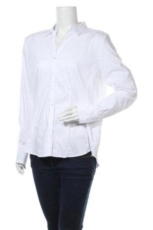 Dámská košile  More & More, Velikost XL, Barva Bílá, 69% bavlna, 28% polyamide, 3% elastan, Cena  225,00Kč