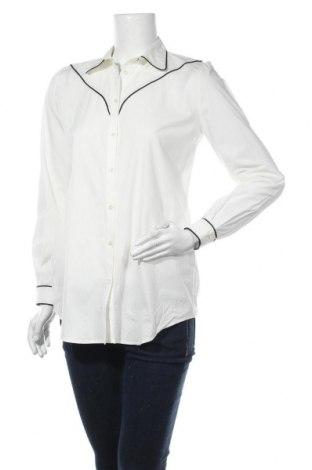 Дамска риза Pinko, Размер XL, Цвят Екрю, 97% памук, 3% еластан, Цена 47,88лв.