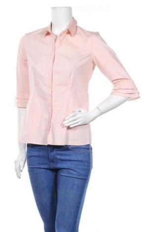 Дамска риза S.Oliver, Размер S, Цвят Розов, 68% памук, 27% полиестер, 5% еластан, Цена 11,50лв.