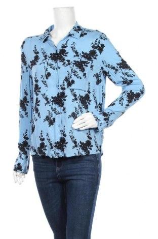 Дамска риза Samsoe & Samsoe, Размер M, Цвят Син, Вискоза, Цена 16,91лв.
