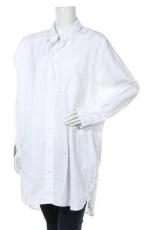Γυναικείο πουκάμισο Soya Concept, Μέγεθος XL, Χρώμα Λευκό, 53% πολυεστέρας, 47% βαμβάκι, Τιμή 13,68€