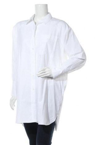 Γυναικείο πουκάμισο Soya Concept, Μέγεθος XS, Χρώμα Λευκό, 53% πολυεστέρας, 47% βαμβάκι, Τιμή 12,16€