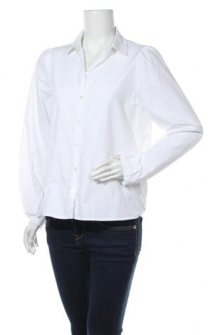 Γυναικείο πουκάμισο Soya Concept, Μέγεθος M, Χρώμα Λευκό, 53% πολυεστέρας, 47% βαμβάκι, Τιμή 7,07€