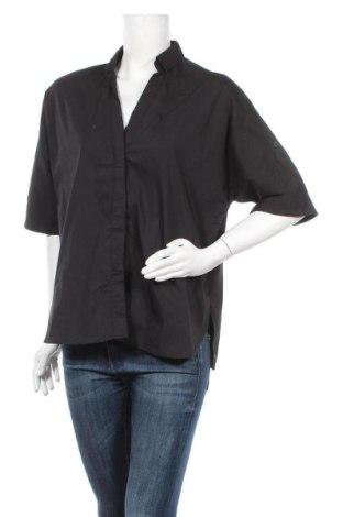 Γυναικείο πουκάμισο Steffen Schraut, Μέγεθος M, Χρώμα Μαύρο, 60% βαμβάκι, 35% πολυεστέρας, 5% ελαστάνη, Τιμή 11,69€