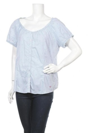 Γυναικείο πουκάμισο Tchibo, Μέγεθος L, Χρώμα Μπλέ, Βαμβάκι, Τιμή 3,64€