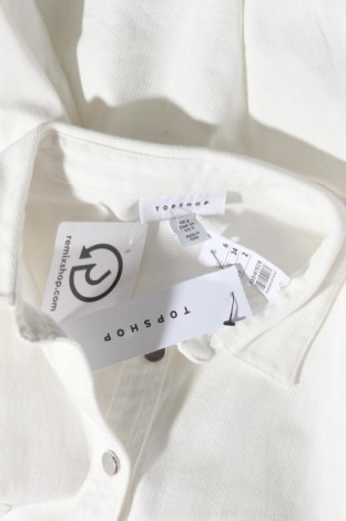 Дамска риза Topshop, Размер XS, Цвят Бял, Памук, Цена 22,77лв.