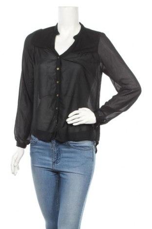 Дамска риза Tout Feu Tout Femme, Размер M, Цвят Черен, Полиестер, Цена 14,28лв.