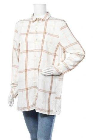 Дамска риза Triangle By s.Oliver, Размер L, Цвят Бял, Вискоза, Цена 11,96лв.