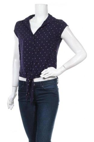 Γυναικείο πουκάμισο Up 2 Fashion, Μέγεθος M, Χρώμα Μπλέ, Βισκόζη, Τιμή 3,86€
