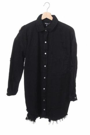 Дамска риза Vero Moda, Размер XXS, Цвят Черен, Памук, Цена 48,00лв.