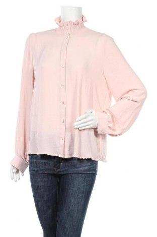Дамска риза Vero Moda, Размер XL, Цвят Розов, Полиестер, Цена 25,37лв.