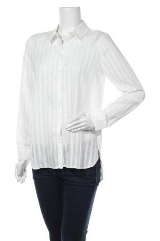 Дамска риза Vila, Размер M, Цвят Бял, Полиестер, Цена 44,25лв.