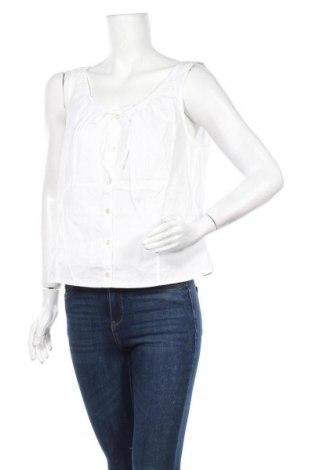 Дамска риза Woman's Fashion, Размер XL, Цвят Бял, Памук, Цена 13,44лв.