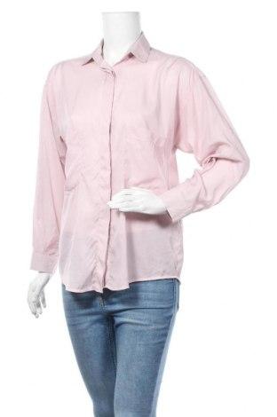 Дамска риза Zara, Размер M, Цвят Розов, Полиестер, Цена 5,99лв.