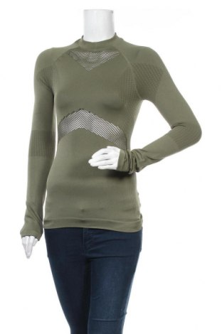 Γυναικεία αθλητική μπλούζα NU-IN, Μέγεθος S, Χρώμα Πράσινο, 95% πολυαμίδη, 5% ελαστάνη, Τιμή 16,56€