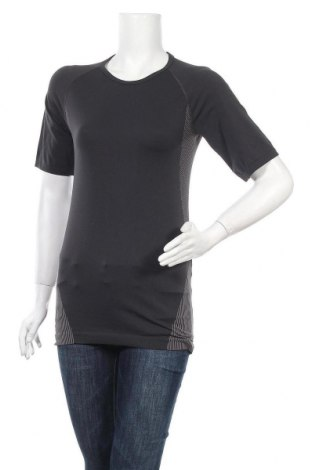 Дамска тениска, Размер L, Цвят Сив, 78% полиамид, 22% полиестер, Цена 5,54лв.