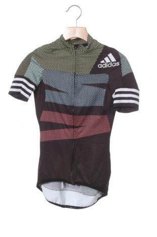 Дамска тениска Adidas, Размер XXS, Цвят Многоцветен, 86% полиестер, 14% еластан, Цена 33,97лв.