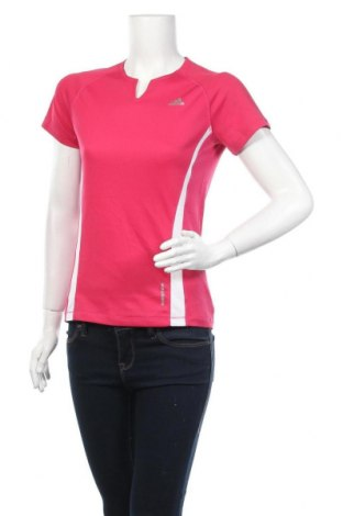 Дамска тениска Adidas, Размер M, Цвят Розов, Полиестер, Цена 23,10лв.
