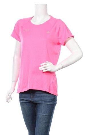 Dámské tričko Adidas, Velikost XL, Barva Růžová, Polyester, Cena  352,00Kč