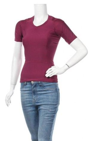 Дамска тениска Alignmed, Размер S, Цвят Розов, 86% полиестер, 14% еластан, Цена 35,70лв.