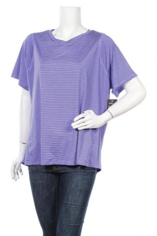 Γυναικείο t-shirt Athletic Works, Μέγεθος 3XL, Χρώμα Βιολετί, 88% πολυεστέρας, 12% ελαστάνη, Τιμή 5,00€