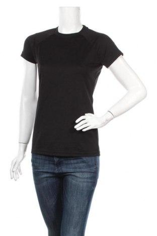 Дамска тениска Atrium, Размер S, Цвят Черен, Полиестер, Цена 14,70лв.