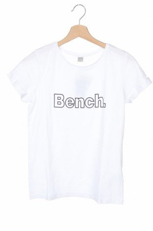 Дамска тениска Bench, Размер XS, Цвят Бял, Памук, Цена 29,25лв.
