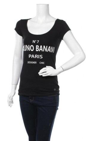 Дамска тениска Bruno Banani, Размер S, Цвят Черен, 95% памук, 5% еластан, Цена 36,75лв.