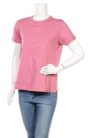 Γυναικείο t-shirt Champion, Μέγεθος L, Χρώμα Ρόζ , Βαμβάκι, Τιμή 14,67€
