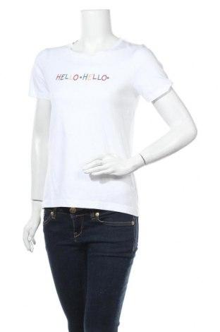 Дамска тениска Chinti and Parker, Размер XS, Цвят Бял, Памук, Цена 26,22лв.