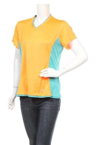 Дамска тениска Crivit, Размер XL, Цвят Оранжев, Полиестер, Цена 11,03лв.