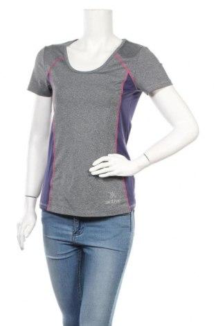 Дамска тениска Crivit, Размер M, Цвят Сив, 88% полиестер, 12% еластан, Цена 11,34лв.