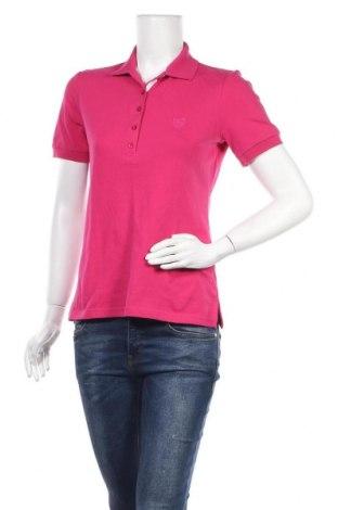 Дамска тениска Daniel Hechter, Размер M, Цвят Розов, Цена 33,60лв.
