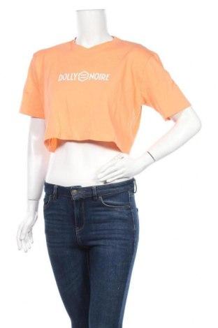 Дамска тениска Dolly Noire, Размер S, Цвят Розов, Памук, Цена 8,12лв.