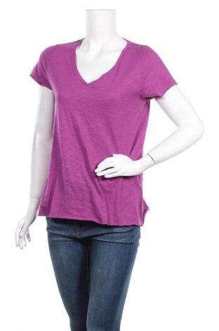 Дамска тениска Essential by Noa Noa, Размер S, Цвят Лилав, 55% памук, 45% вискоза, Цена 30,02лв.