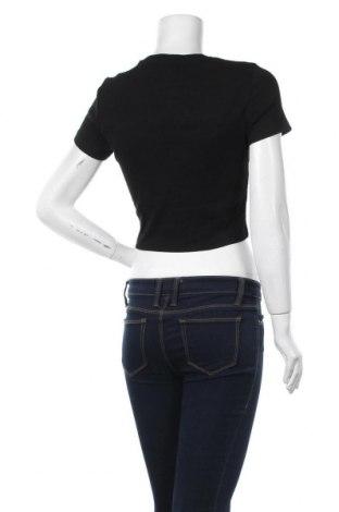 Дамска тениска Even&Odd, Размер L, Цвят Черен, 95% памук, 5% еластан, Цена 16,20лв.