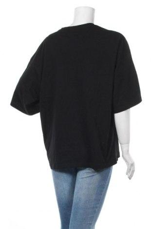 Дамска тениска Even&Odd, Размер L, Цвят Черен, Памук, Цена 13,00лв.