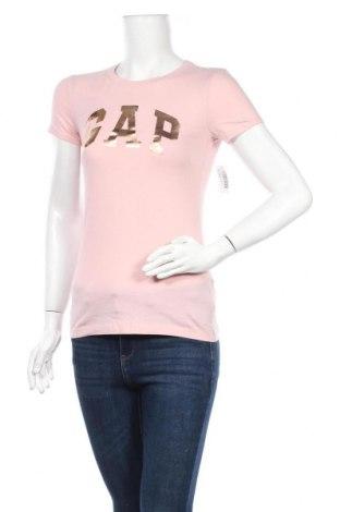 Дамска тениска Gap, Размер XXS, Цвят Розов, Памук, Цена 31,50лв.