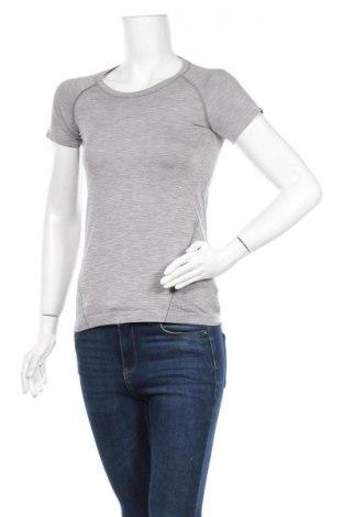 Дамска тениска H&M Sport, Размер S, Цвят Сив, 58% полиамид, 42% полиестер, Цена 12,76лв.